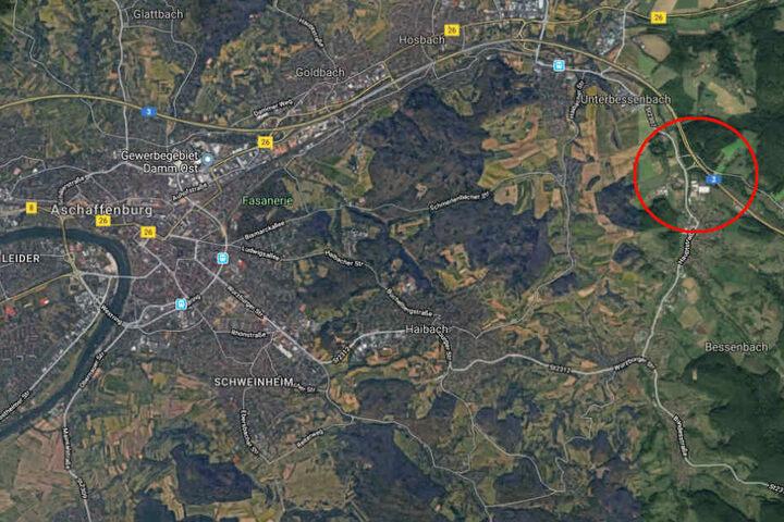 Der Unfall passierte an der A3-Anschluss-Stelle Bessenbach/Waldaschaff.