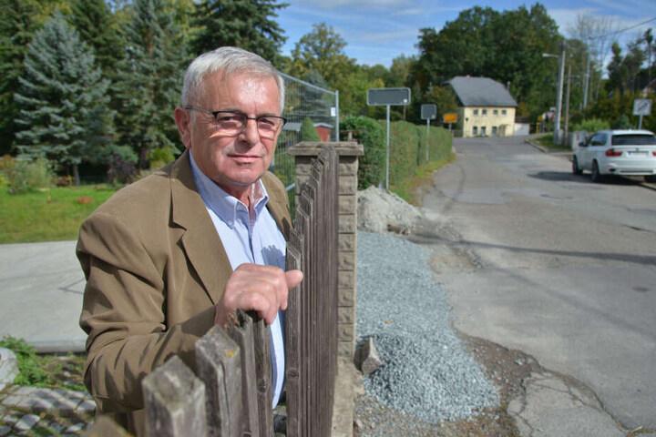 Dieter Haase (67) überlegt eine Vereinsgründung gegen Lärm.