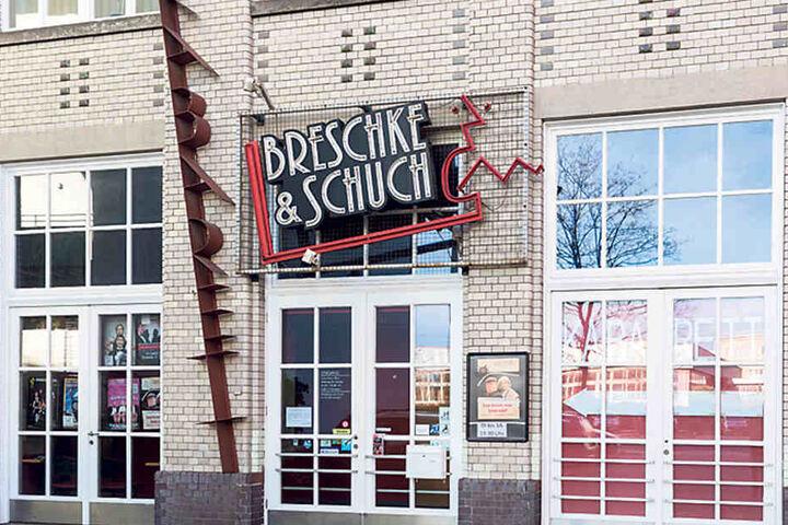 "Das ""Dresdner Kabarett Breschke  & Schuch"", Wettiner Platz 10. Beim Namen soll's bleiben."
