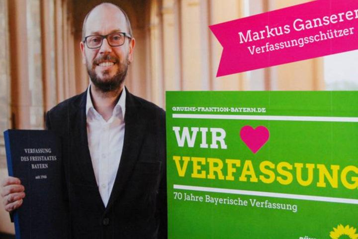 Markus Ganserer sitzt für die Grünen in Bayern im Landtag und hat sich nun geoutet.