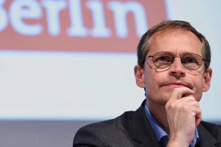 Berlins Regierender Bürgermeister Michael Müller.