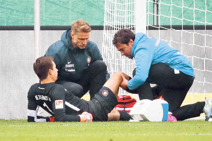 Verletzte sich im Hinspiel am Knie und musste danach gegen den HSV pausieren - eine von vielen negativen Geschichten mit Heidenheim.