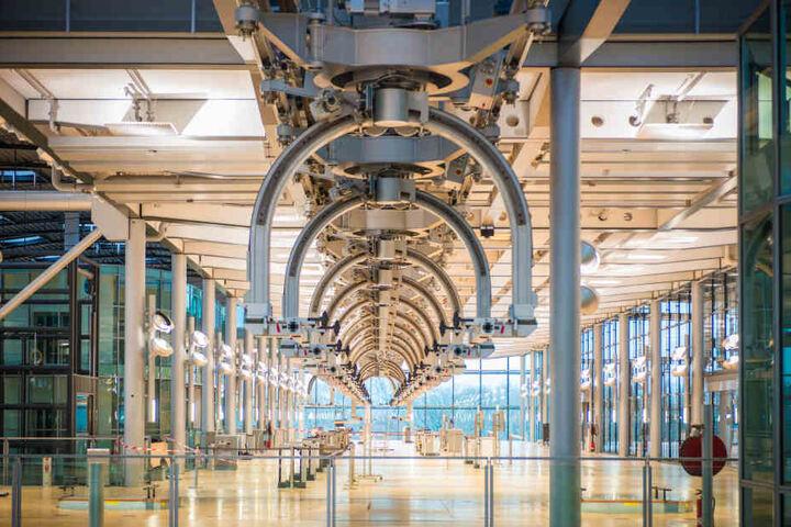 Momentan wird die Gläserne Manufaktur für 20 Millionen Euro umgebaut.