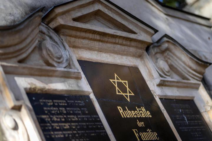 Auf dem historischen Teil des jüdischen Friedhofs auf dem Kaßberg gibt es 1350 Gräber.