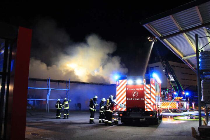 Sofort alarmierte die Feuerwehr Abensberg weitere Kräfte nach.