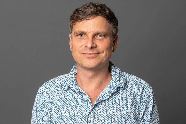 Ärgert sich über den Untergang des Prestige-Baus: Grüne-Chef Thomas Löser (46).