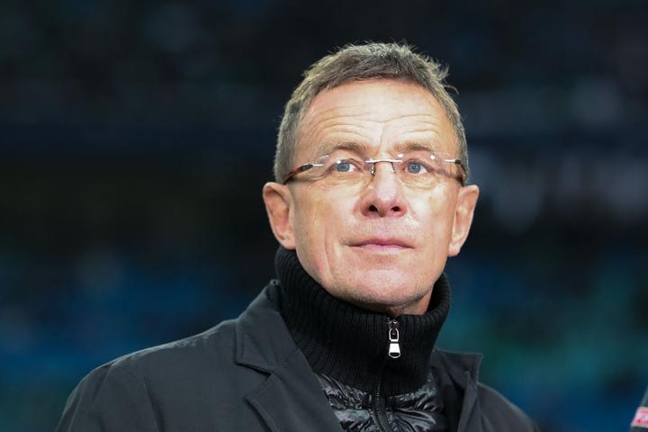 Trainer Ralf Rangnick (60).