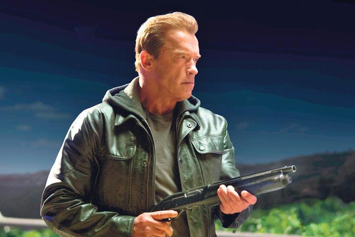 """""""I'll be back"""" - in seiner Rolle als """"Terminator"""" wurde Arnold Schwarzenegger  weltbekannt."""