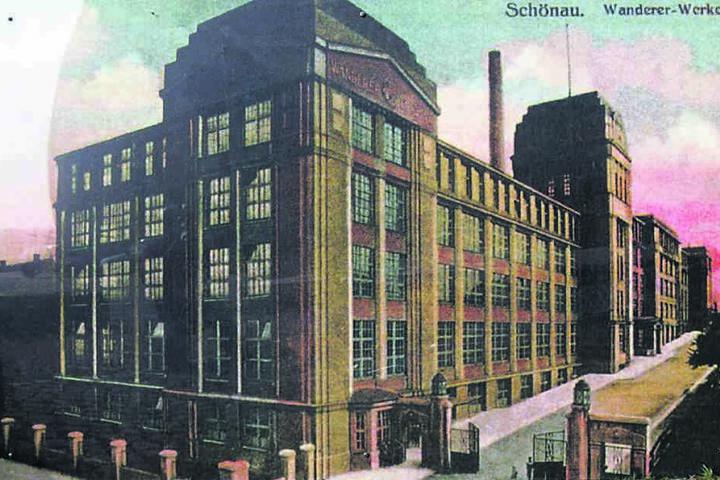Wanderer gehörte neben Hartmann und Schönherr zu den Ikonen der Chemnitzer Industrie.