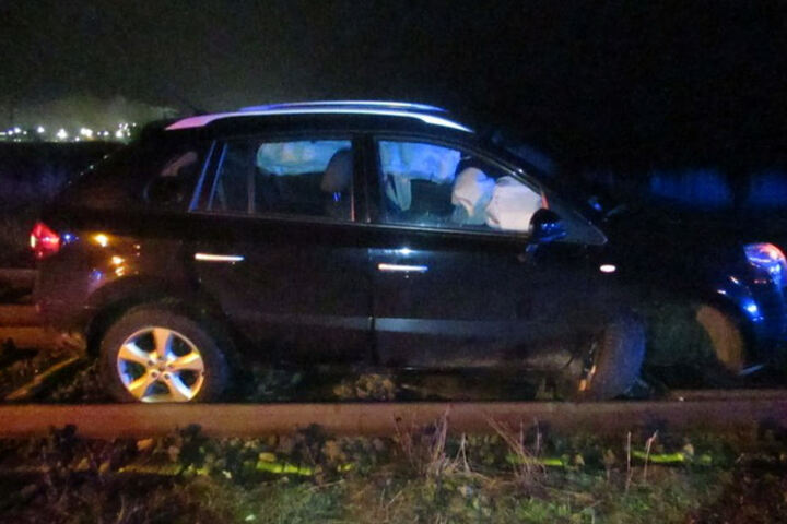 Der Airbag löste aus - der 18-Jährige erlitt einen Schock, blieb aber unverletzt.