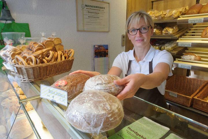 Katrin Mehner (41) war mit ihrer Bäcker-Filiale 20 Jahre in der Turmpassage.