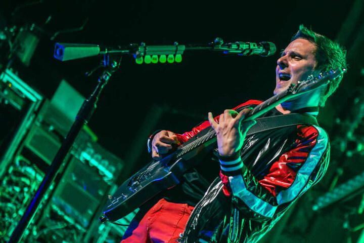 Der Überraschungsauftritt der Band Muse wurde erst einen Tag vorher angekündigt.