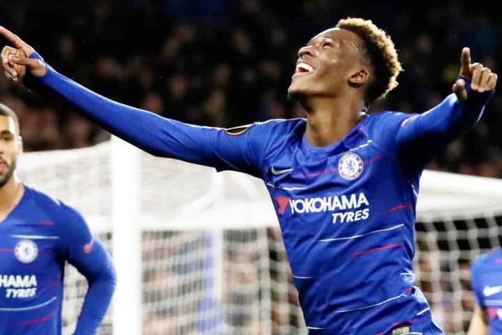 Callum Hudson-Odoi wurde vom FC Chelsea ein neues Angebot unterbreitet. (Archivbild)