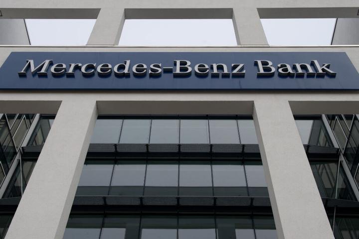 Die Firmenzentrale der Mercedes-Benz-Bank in Stuttgart.