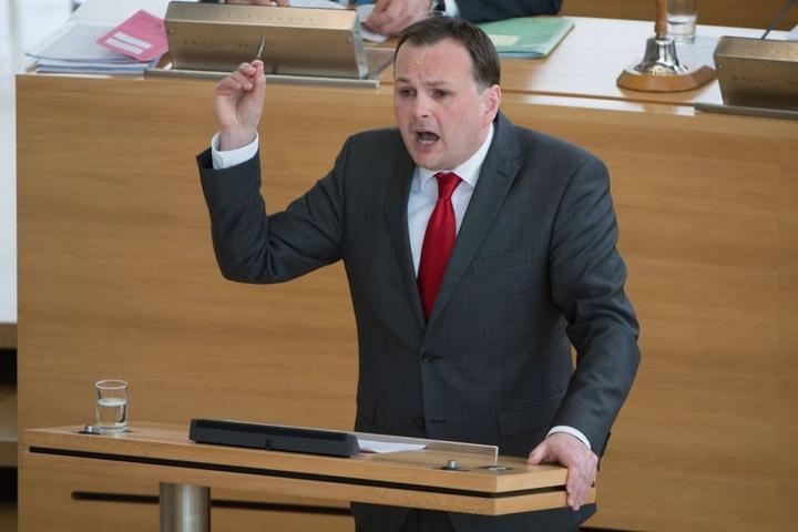 Auch André Schollbach hat Ambitionen auf den Posten des Landeschefs.