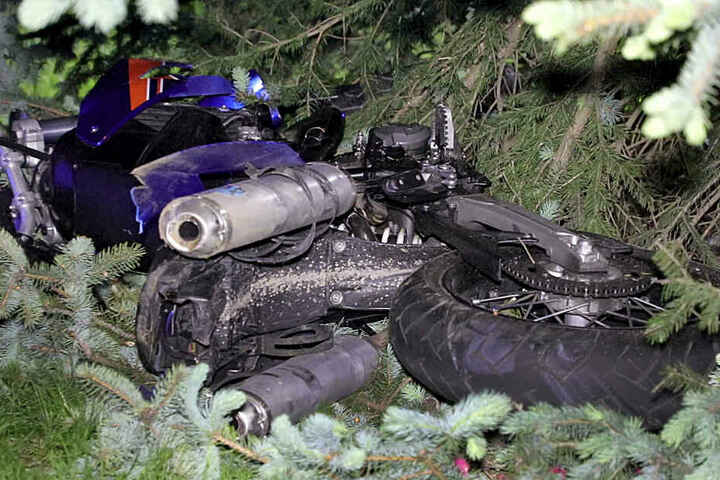 Der Motorradfahrer starb wenige Tage nach dem Unfall.