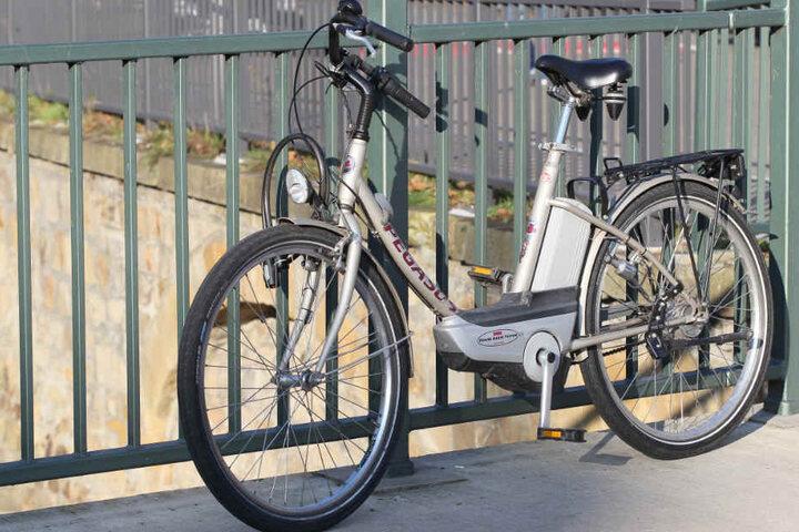Mit diesem E-Bike war der Schwerverletzte unterwegs.