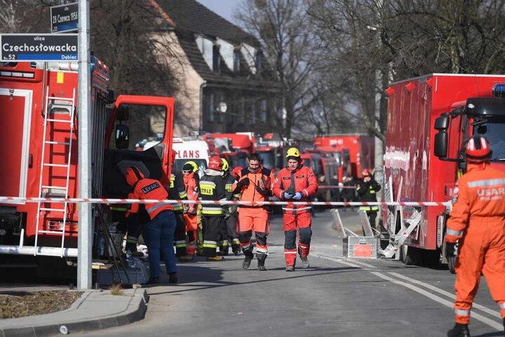 Durch die Explosion sind mindestens fünf Menschen gestorben und mehr als 20 verletzt worden.