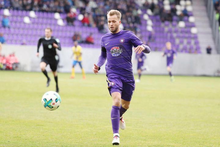 Der FCE-Stürmer Pascal Köpke hat am Freitag also ein Heimspiel.
