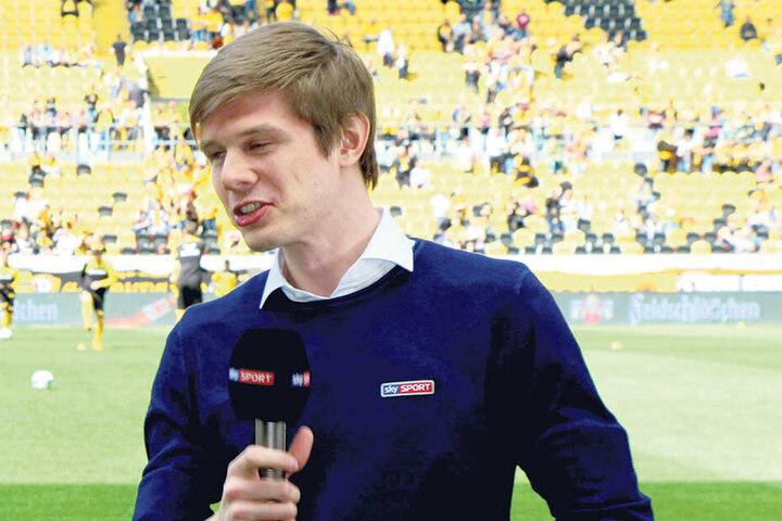 Sky-Kommentator Sven Haist wurde von den Fans als neuer Dynamo-Trainer vorgeschlagen...