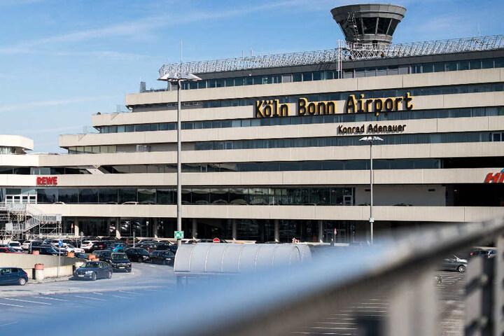 Am Flughafen Köln/Bonn lief der Betrieb ohne Probleme.