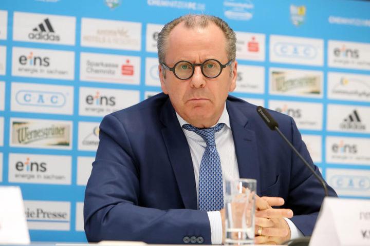 Insolvenzverwalter Klaus Siemon.