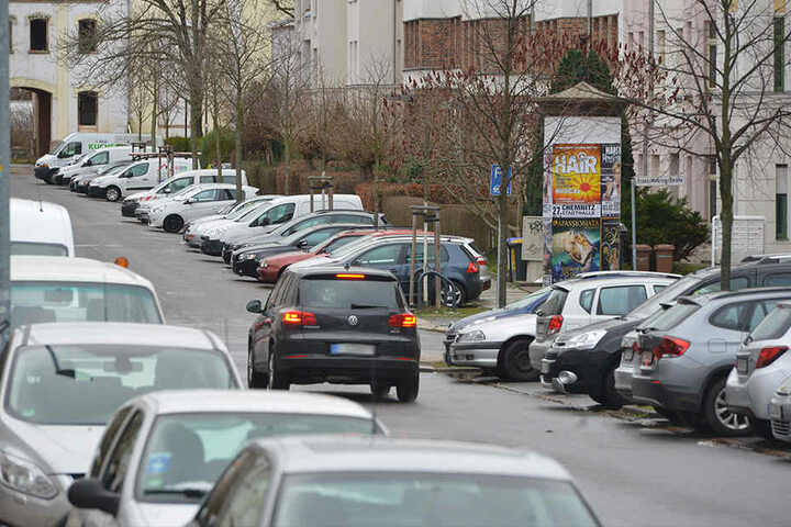 Der Kaßberg: Parkplätze sind in dem beliebten Stadtteil seit Jahren Mangelware.