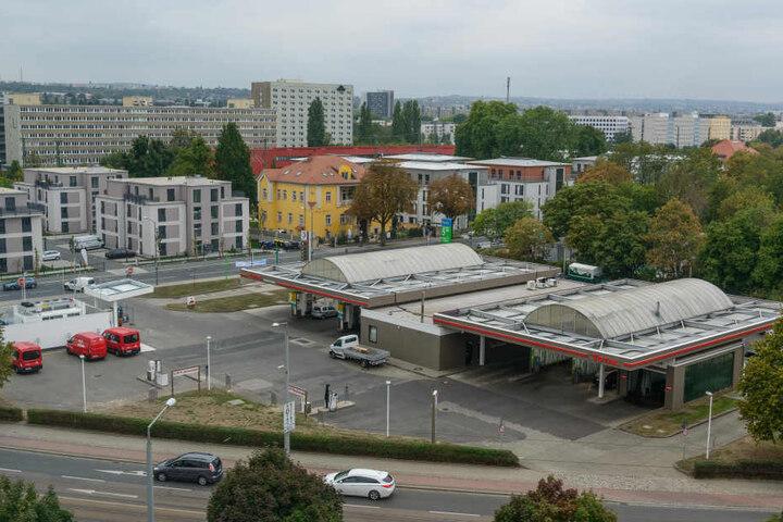 Die Tankstelle an der Wiener Straße. (Archivbild)