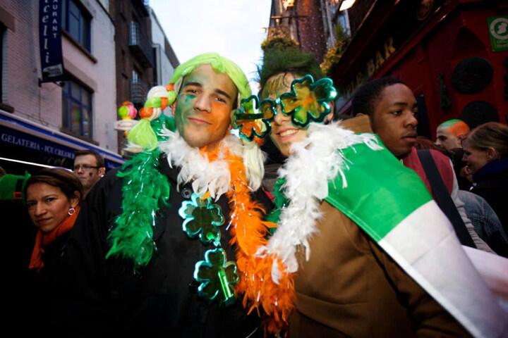St. Patrick's Day ist der Gedenktag des irischen Bischofs Patrick.