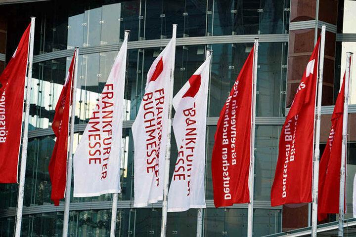 Die Frankfurter Buchmesse läuft noch bis zum 14. Oktober.