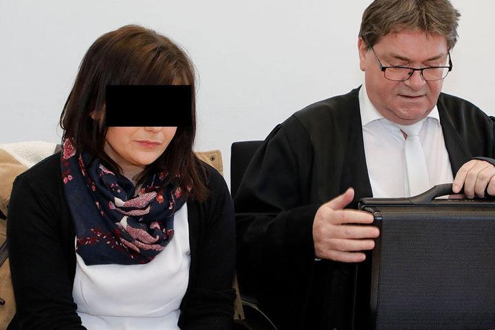 Monique K. (29) kam am Freitag im Landgericht Chemnitz mit Bewährung davon.