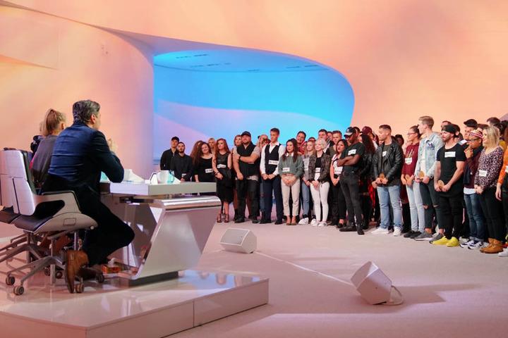Talentbewertung im Fließbandbetrieb: 120 Kandidaten mussten durchsiebt werden. Nur 24 durften in den Auslands-Recall.