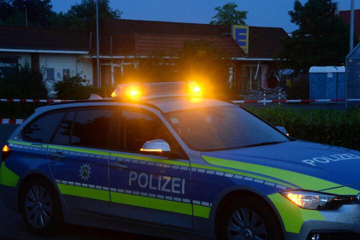 Die Polizei sperrte den Parkplatz ab.