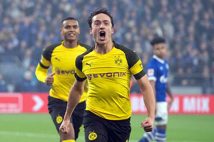 Erzielte sein erstes Tor im BVB-Trikot: Thomas Delaney köpfte Dortmund auf Schalke in Front.