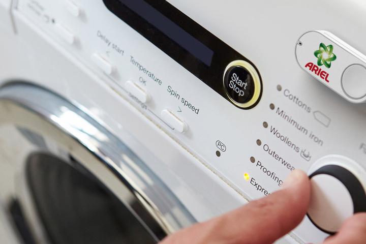 Durch Drücken des Dash-Knopfes wird automatisch eine einmalige Bestellung in Auftrag gegeben.