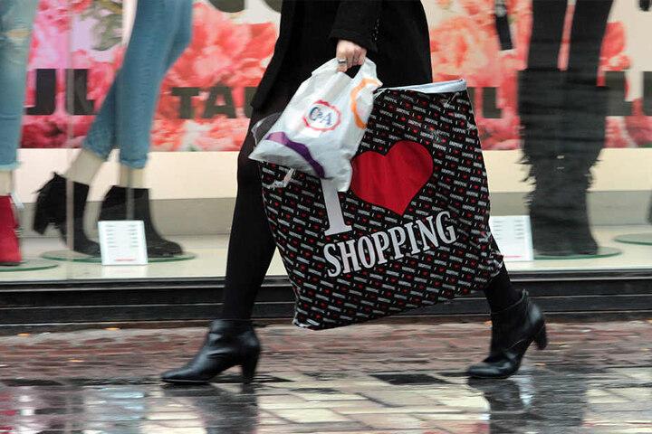Shopping geht bei jedem Wetter!