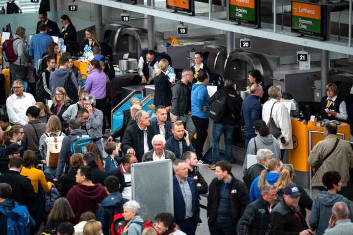 Allein im dritten Quartal nutzten gut 13,8 Millionen Passagiere den Münchner Flughafen.