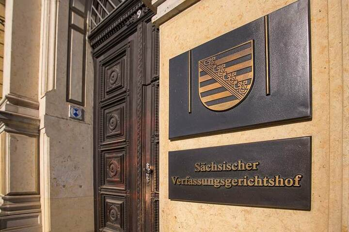 Der Verfassungsgerichtshof in Leipzig.