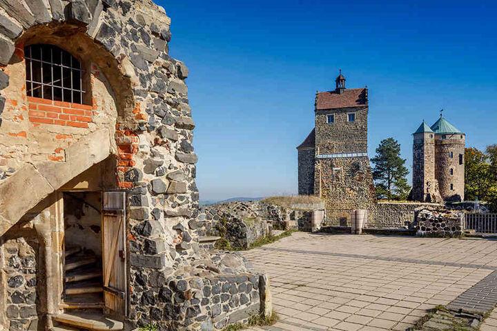 Die Burgstadt Stolpen feiert in diesem Jahr ihren 800. Geburtstag. Deshalb werden auf der Burg bis Jahresende über 100.000 Besucher erwartet.