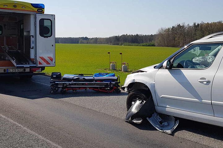 Ein Skoda war in den Crash verwickelt.