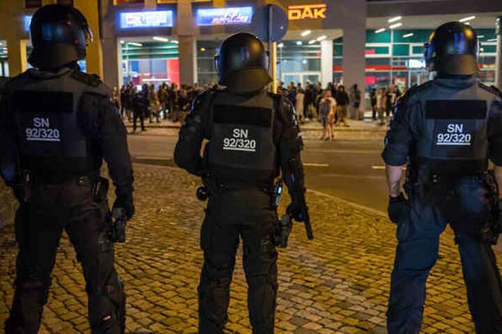 Gemeinsam mit dem Innenministerium richtete die Polizeidirektion Görlitz einen Kontrollbereich in Bautzen ein.