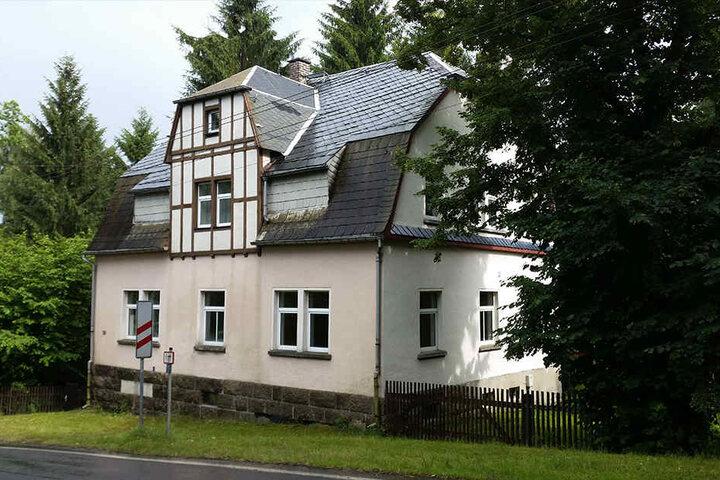 In diesem Haus in Auerbach passierte die schreckliche Tat.