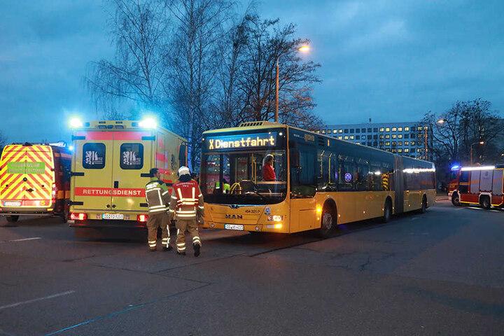 Der Bus musste am Morgen eine Gefahrenbremsung machen.