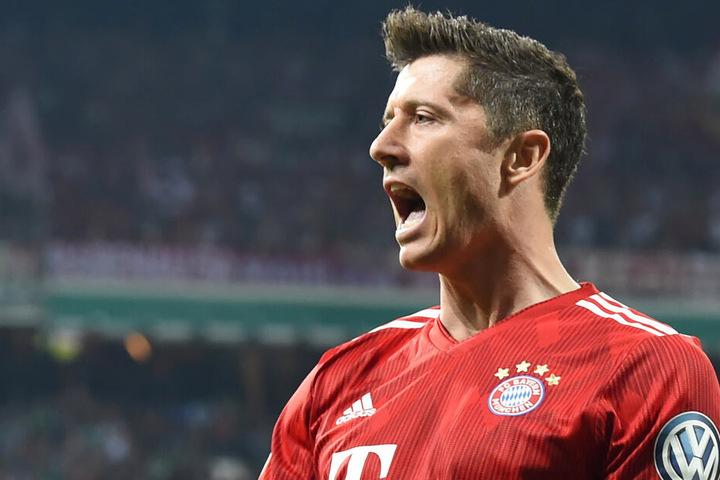 Robert Lewandowski geht von einem Bayern-Sieg gegen Borussia Dortmund im Supercup aus.