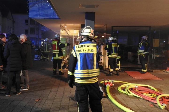 De Feuerwehr konnte den Brand schnell lokalisieren.