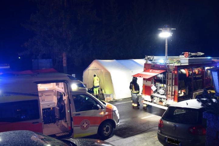 Die Rettungskräfte in der Gemeinde Ahrntal.