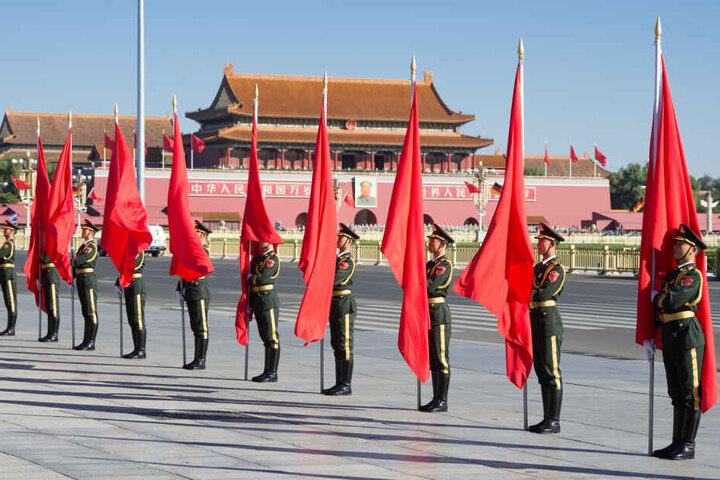 """Chinas Medien betitelten den Raketenstart als """"Meilenstein in der Entwicklung des Chinesischen Raumfahrtprogramms""""."""