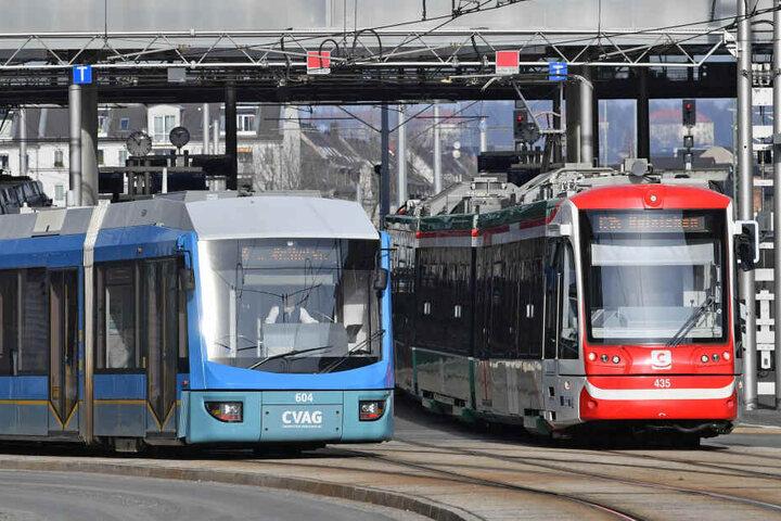 Bei Bussen und Bahnen in Chemnitz kommt es immer wieder zu Fahrtausfällen.