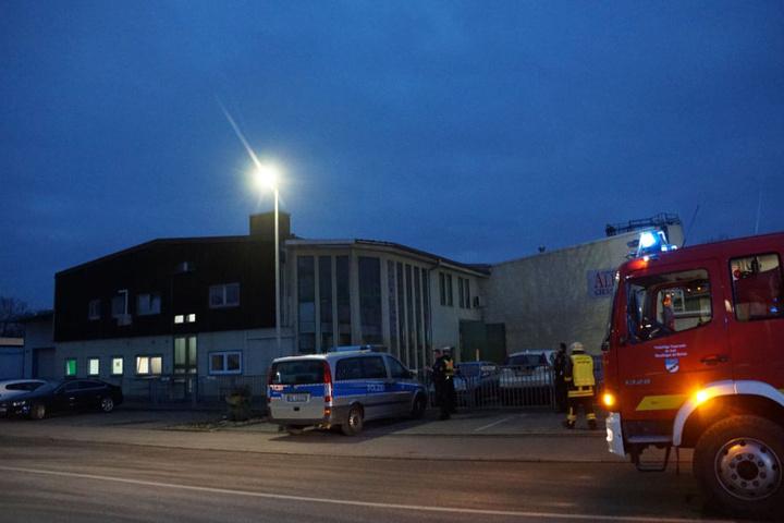 In dieser Gießerei wurden zwei Männer verletzt, als sie nach dem Knall flüchteten.