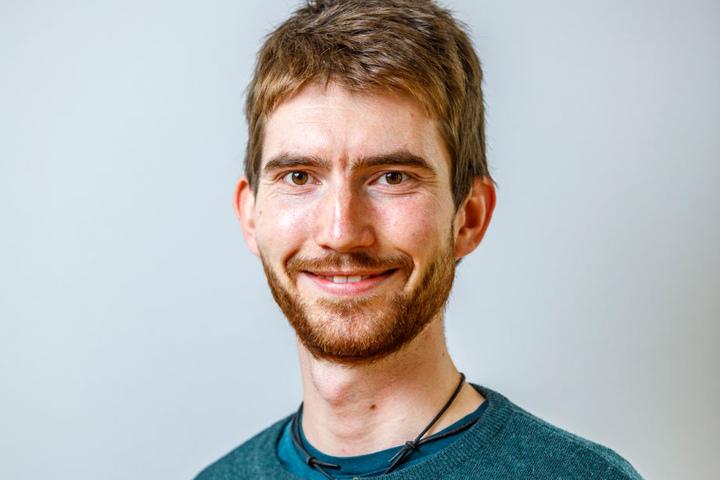 Niko Heistermann (23), Tischlergeselle aus Dresden.